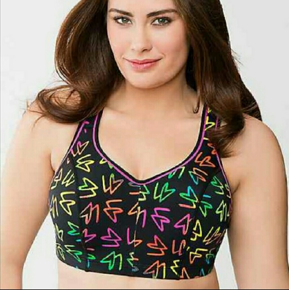 38c3e3ac6c Lane Bryant Other - Lane Bryant Cacique Sports Bra 44DDD Underwire